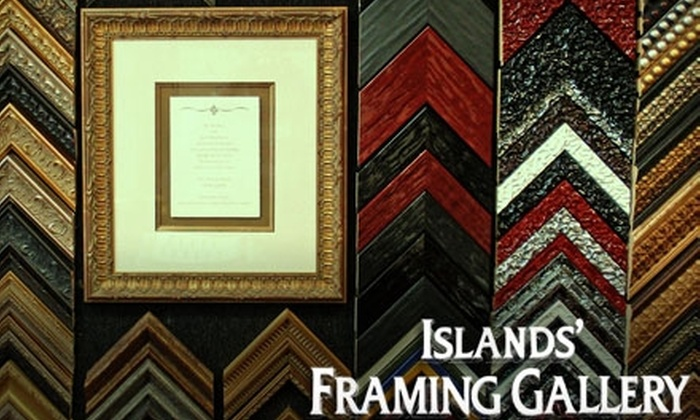 Islands Framing Gallery - Tybee Island-Wilmington: $40 for $100 Worth of Custom Framing, Prints, and Ready-Made Frames at Islands Framing Gallery