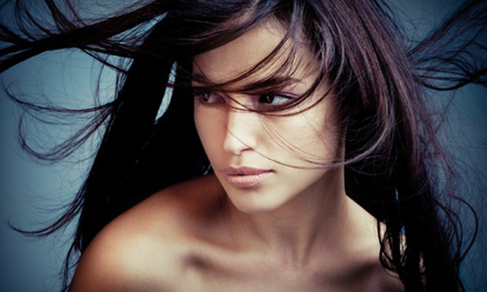SMS Colour at Salons by JC - San Antonio: One or Two Brazilian Blowouts at SMS Colour at Salons by JC (Up to 76% Off)