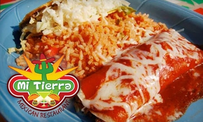 Mi Tierra  - Smyrna: $10 for $20 Worth of Savory Mexican Fare and Margaritas at Mi Tierra in Smyrna