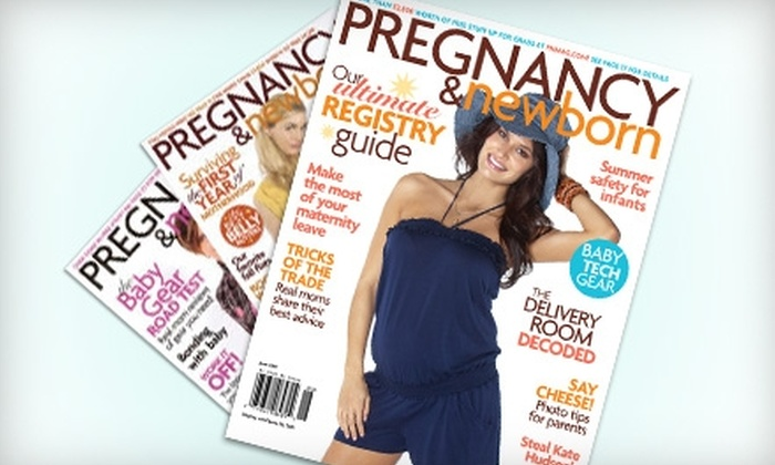 """""""Pregnancy & Newborn"""" Magazine - Kelowna: $12 for a One-Year Subscription to """"Pregnancy & Newborn"""" Magazine ($37.50 Value)"""