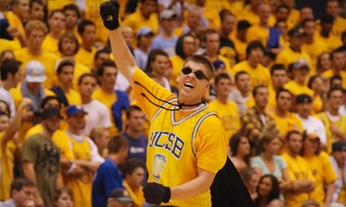 UCSB Athletics - Isla Vista: Four General Admission Tickets to UCSB Athletics Men's or Women's Basketball Home Game (Up to 75% Off). Two Options Available.