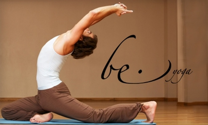 Be Yoga - Downtown North: $25 for 25 Classes at Be Yoga ($300 Value) in Palo Alto