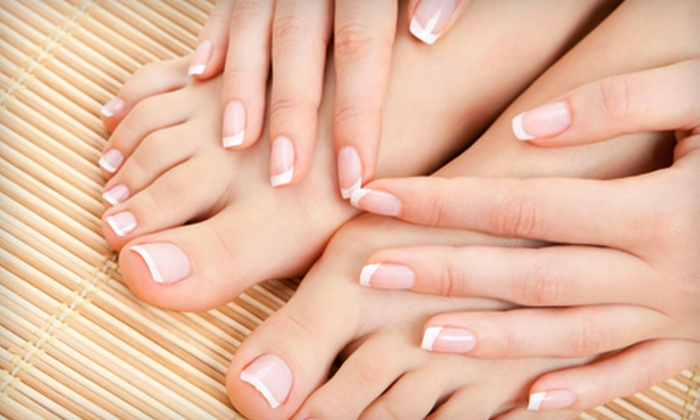 Greatest Nails and Spa - Brea-Olinda: $35 for a Luxury No-Chip Mani-Pedi at Greatest Nails and Spa in Brea ($70 Value)