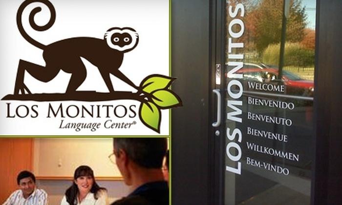 Los Monitos Language Center - Multiple Locations: $89 for a 10-Week Language Course at Los Monitos Language Center ($230 Value)