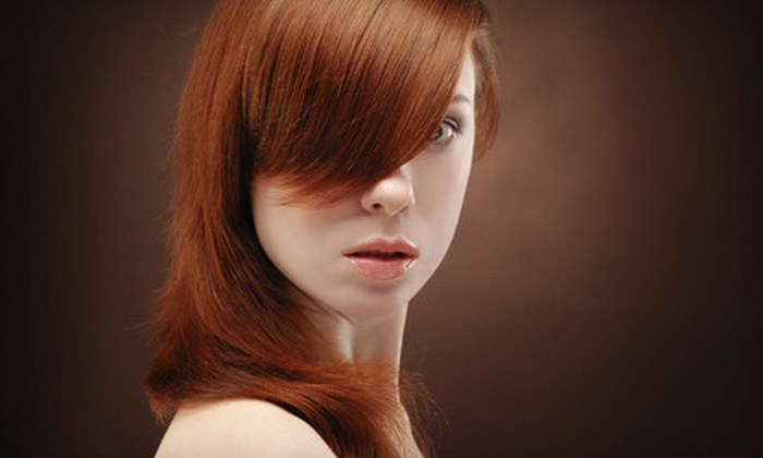Paul Pecorella Hair Salon & Spa - Yorkville: $28 for a Haircut Package with a New Talent Stylist at Paul Pecorella Hair Salon & Spa (Up to $64 Value)