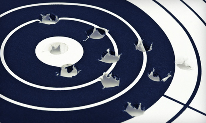 Article 2 Gun Range - Lombard: $49 for a Shooting-Range Package for Two with an Intro Lesson, Targets, and Firearms at Article 2 Gun Range ($106 Value)