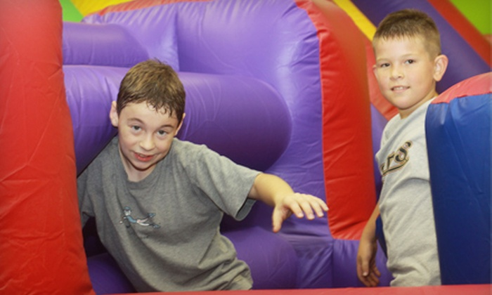 Jump On In - Houston: $20 for Six Kids' Open-Jump Sessions at Jump On In ($48 Value)
