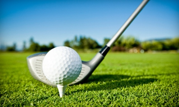 River Oaks Golf Camp - West Jordan: Golf Lessons at River Oaks Golf Camp in West Jordan. Three Options Available.