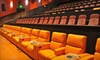 Cinetopia, LLC - Multiple Locations: $18 for Movie Outing for Two with Large Popcorn or Drink at Cinetopia (Up to $50 Value)