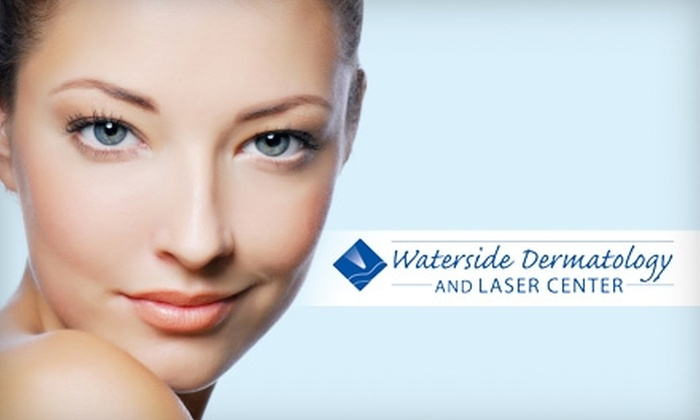 Waterside Dermatology and Laser Center - Catawba Springs: $129 for MicroExfoliation plus Genesis Laser Treatment and Makeup Consultation at Waterside Dermatology and Laser Center (a $370 Value)