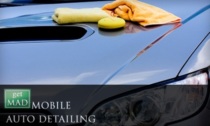 Get M.A.D. Mobile Auto Detailing - Downtown Nashville: Car Detailing Services from Get M.A.D. Mobile Auto Detailing. Choose Between Four Options.