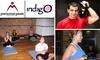Personal Peak - Near North Side: $40 for Three Yoga and Kettlebell Boot Camp Classes at Indigo