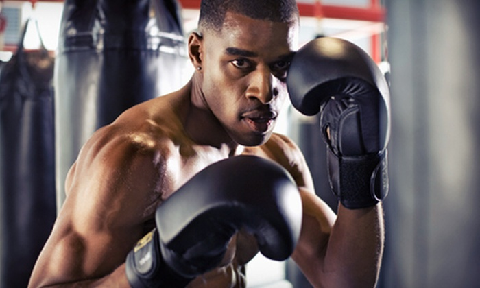 The House of Hardknocks Boxing - Multiple Locations: $49 for One Month of Boxing, Kickboxing, and Mixed Martial-Arts Classes at The House of Hardknocks Boxing ($110 Value)