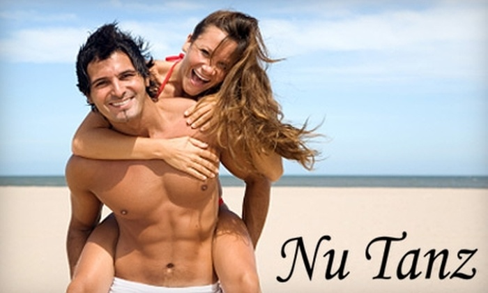 Nu Tanz - Little Rock: $20 for One Month of Unlimited Tanning or One Full-Body Airbrush Tan at Nu Tanz ($55 Value)