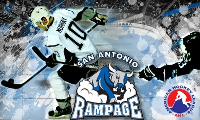 San Antonio Rampage - San Antonio: $10 for a Charter-Level Seat to the San Antonio Rampage vs. Houston Aeros on Thursday, April 8, at 7 p.m. ($25 Value)