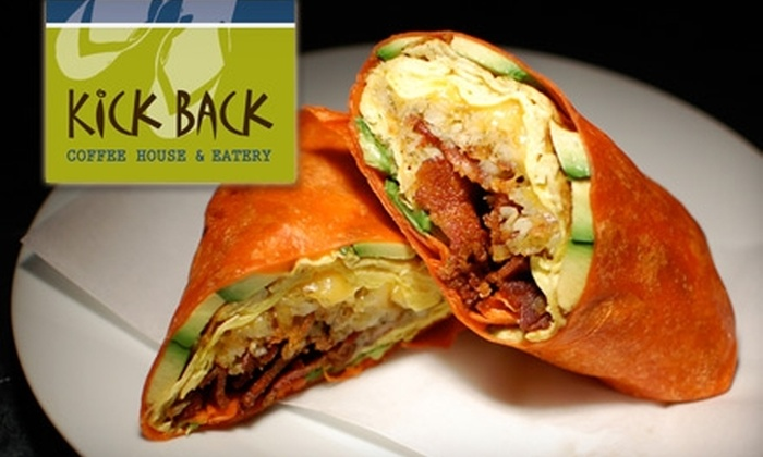 Kickback Cafe - Eastside: $9 for $18 Worth of New American Fare and Drinks at Kickback Cafe