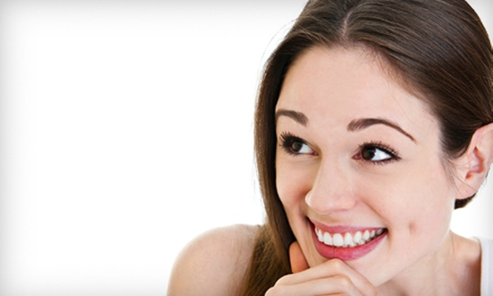 Beauty Bar Laser Clinic - Multiple Locations: One or Two Laser Teeth-Whitening Treatments at Beauty Bar Laser Clinic (Up to 75% Off)