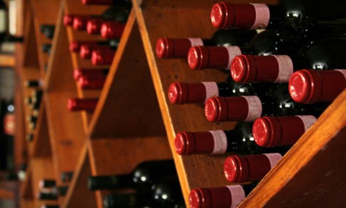 Vino Aquino - North End: 6 or 12 Bottles of Washington State Merlot or Syrah at Vino Aquino in Tacoma (Up to 57% Off)