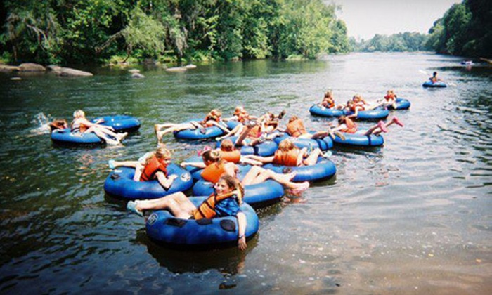 Palmetto Outdoor Center - West Columbia: One- or Three-Hour Tubing Trip for Four or Eight at Palmetto Outdoor Center (Up to 57% Off)