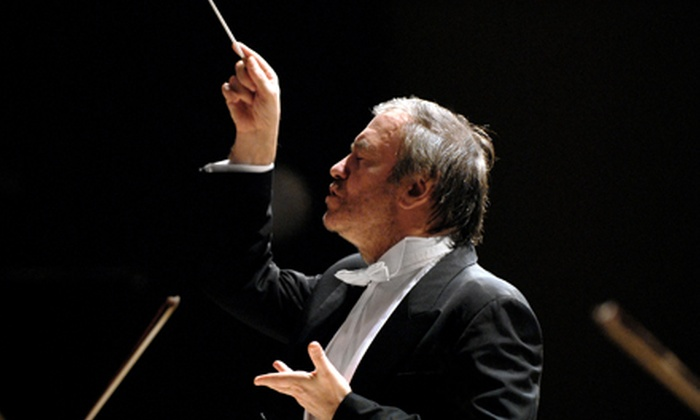 Mariinsky Orchestra with Maestro Valery Gergiev - Byward Market - Parliament Hill: One Ticket to See the Mariinsky Orchestra at National Arts Centre on October 23 at 2 p.m. Two Options Available.