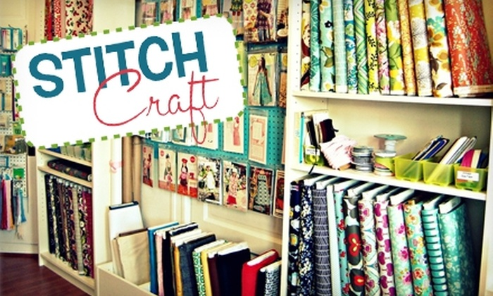 StitchCraft - Petaluma: $10 for $20 Worth of Sewing Supplies and Merchandise at StitchCraft in Petaluma