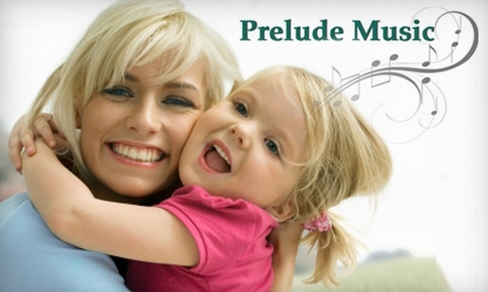 Prelude Music - St. Matthews: Parent and Child Music Classes at Prelude Music. Choose Between Two Options.