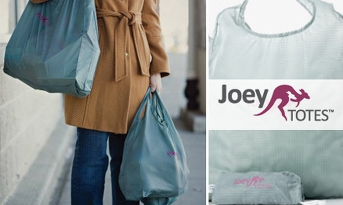 Joey Totes - Washington DC: $12 for a Three-Bag Set of Eco-Friendly Tote Bags from Joey Totes