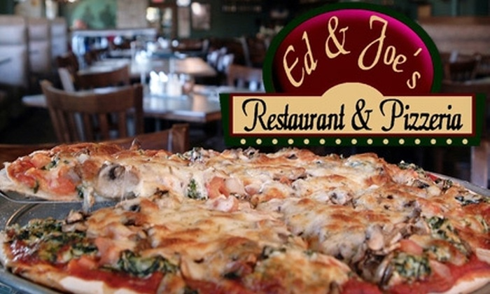 52 Off At Ed N Joe S Pizzeria In Tinley Park