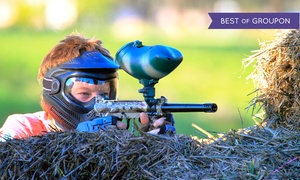 True Paintball Adventure Park: PeeWee Paintball for Two or Paintball for Two, Four, or Eight at True Paintball Adventure Park (Up to 42%Off)
