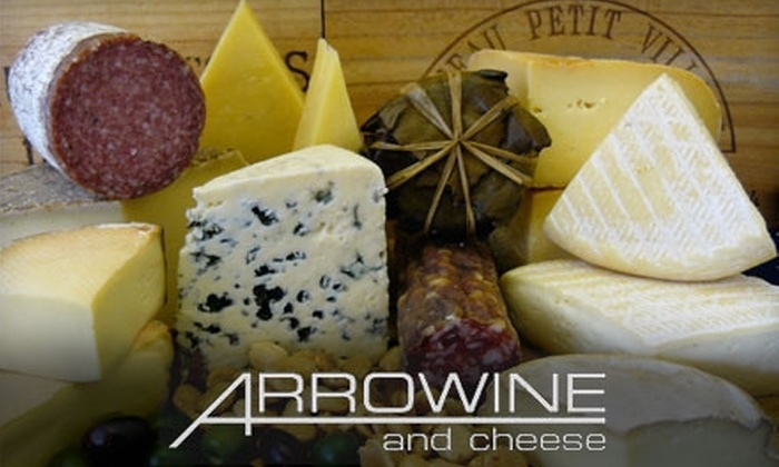 Arrowine - Waverly Hills: $15 for $30 Worth of Artisan Cheese and Charcuterie at Arrowine in Arlington