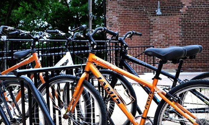 Philadelphia Bike Rental - East Falls: Full-Day Children's Bike Rental or Full-Day Adult Bike Rental from Philadelphia Bike Rental