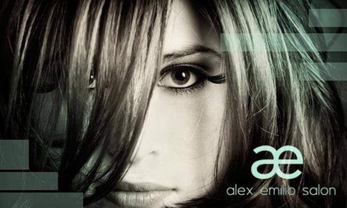Alex Emilio Salon - Detroit: $45 for $125 Worth of Salon Services at Alex Emilio Salon