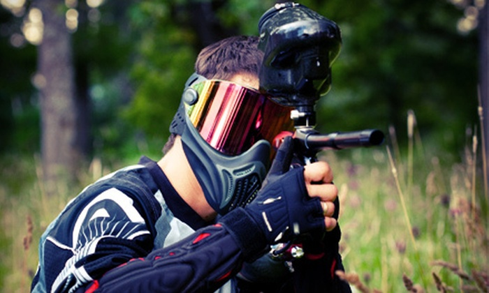 Phoenix Paintball Division - Athens: Paintball Outing for Two or Four at Phoenix Paintball Division in Athens (Half Off)