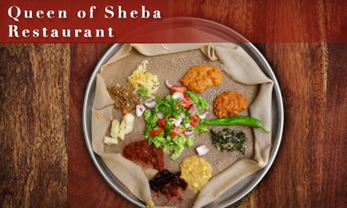 Queen of Sheba Chapel Hill - Chapel Hill: $10 for $20 Worth of Ethiopian Fare at Queen of Sheba Restaurant
