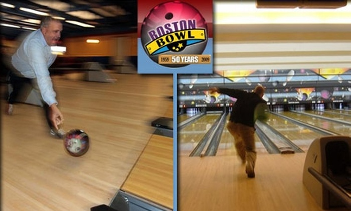 Boston Bowl Family Fun Center - Hanover: $10 for Three Games of Bowling and Shoes (Up to $20 Value). Buy Here for Boston Bowl Family Center in Hanover. See Below for Boston Location.