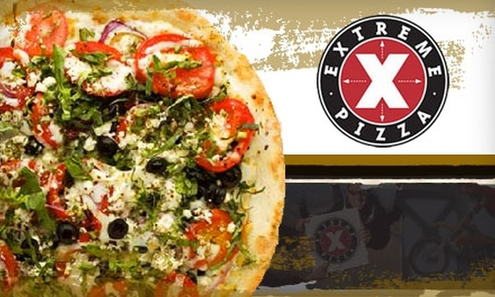 Extreme Pizza - Briargate: $10 for $20 Worth of Pizza and More at Extreme Pizza