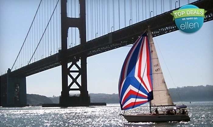 Bay Area Excursions - Fisherman's Wharf: Yacht Cruise for Up to Five from Bay Area Excursions (Up to 55% Off). Three Options Available.
