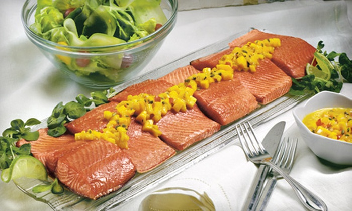 SeaBear - Downtown Core: $25 for $50 Worth of Wild Alaskan Salmon and Other Seafood from SeaBear