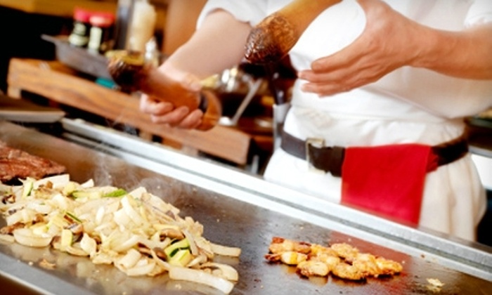 Hibachi and Sake Festival - Multiple Locations: One Admission to the Hibachi and Sake Festival. Four Options Available.
