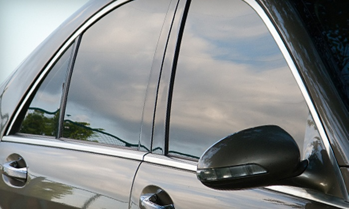 Alarms Etc. - Multiple Locations: $94 for a Five-Window Car or Truck Tinting Package at Alarms Etc. ($187.99 Value)