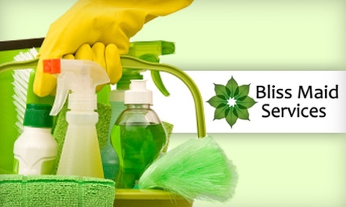 Bliss Maid Services - Tulsa: $45 for Three Hours of Eco-Friendly Cleaning from Bliss Maid Services ($105 Value)
