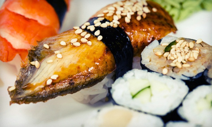 Dragon Inn - Hollywood: Chinese Fare and Sushi at Dragon Inn in Dyer (Up to 52% Off). Two Options Available.
