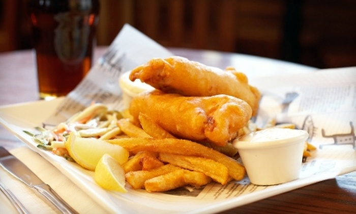 The Dog & Duck Public House & Restaurant - Alyth - Bonnybrook - Manchester: $10 for $20 Worth of Pub Fare and Drinks at The Dog & Duck Public House & Restaurant