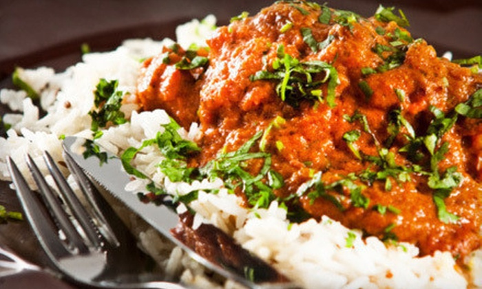 India Tavern - Hampden South: Indian Food and Drinks at India Tavern (Half Off). Two Options Available.