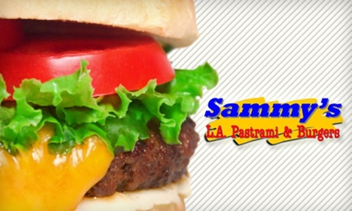 Sammy's L.A. Pastrami & Burgers - Paradise: $10 for $20 Worth of Sandwiches, Burgers, and Hot Dogs at Sammy's L.A. Pastrami & Burgers