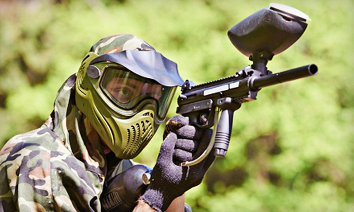 Paintball Charleston - Village Green: $25 for All-Day Paintball for Two at Paintball Charleston ($50 Value)