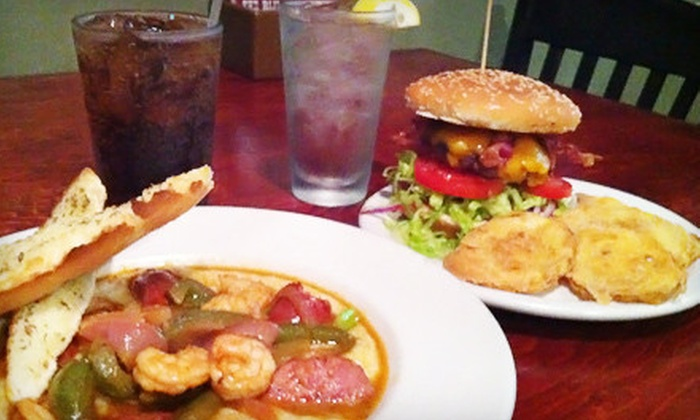 The Blind Mule - Central Business District: Dinner for Two or Four or $10 for $20 Worth of Regional Southern Cuisine at The Blind Mule