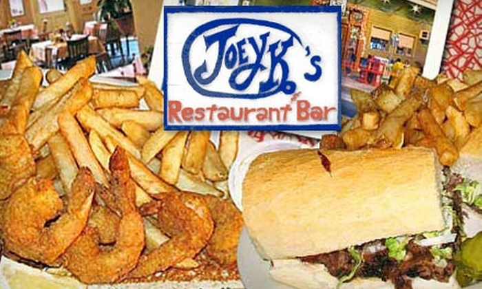 Joey K's Restaurant - Garden District: $15 for $30 Worth of Home-Cooked New Orleans–style Fare at Joey K's Restaurant