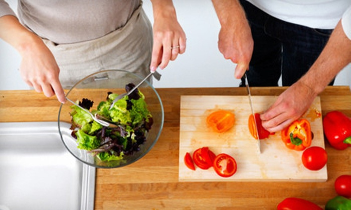 Naturally-Tasty - Rego Park: Newlywed Dinner Party Cooking Class or Bridal Boot Camp Cooking Class from Naturally-Tasty (Up to 52% Off)