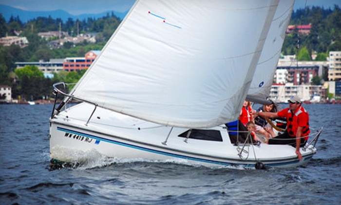 Island Sailing - Hayden Island: $89 for a Two-Hour Intro to Sailing Class at Island Sailing ($200 Value). Nine Options Available.